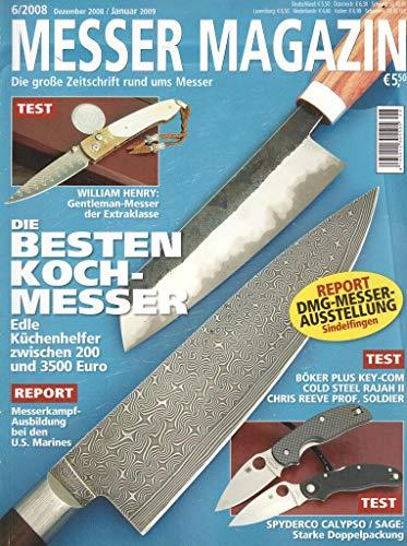 Messer Magazin Nr. 06/2008 Die besten Kochmesser