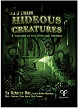 Trail of Cthulhu: Hideous Creatures: A Bestiary of The Cthulhu Mythos (HC)