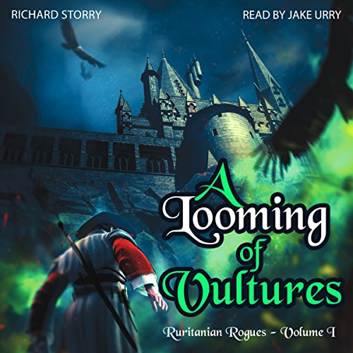 A Looming of Vultures audiobook cover art