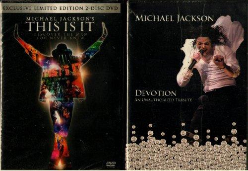 Michael Jackson : This Is It : 2-Disc Limited Edition : Michael Jackson Devotion Tribute with Beyonce Bonus Disc - Total 4 Box Disc Set