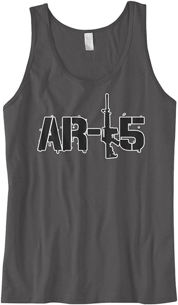 Cybertela Shipping included Men's Assault Rifle Tank Top AR-15 Opening large release sale