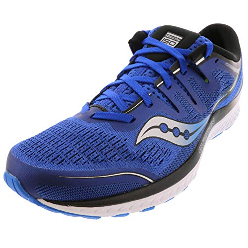 Saucony Men's Guide ISO 2 Running Shoe, Blue, 10.5 M US