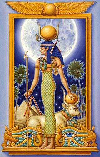 Puzzle 1000 Piezas Regalo de decoración de Imagen de Dios Egipcio Anubis Puzzle 1000 Piezas Animales Rompecabezas de Juguete de descompresión Intelectual Educativo Divertido juego50x75cm(20x30inch)
