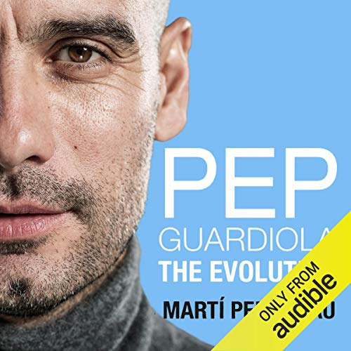 Pep Guardiola audiobook cover art
