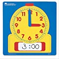 "Learning Resources Write & Wipe Demonstration Clock, Easy-to-Read, 12"" Square Clock, Ages 6+ from Learning Resources"