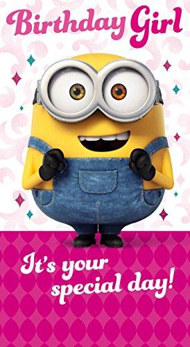 Minions Movie MM013 Glückwunschkarte