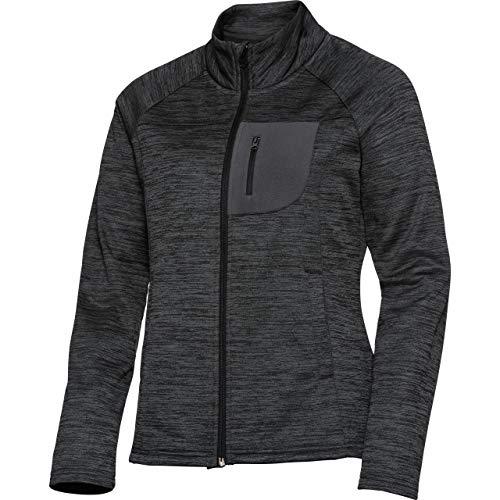 FLM Outdoor Fleecejacke Fleece Jacke Fleecejacken Fleece Jacke Damen 3.0 grau XL, Casual/Fashion, Winter, Textil