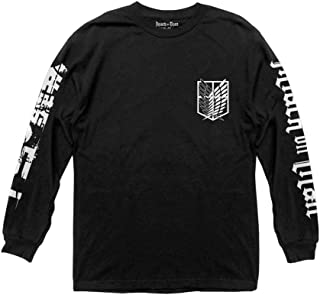 Ripple Junction Attack on Titan Scout Shield Long Sleeve Crew Neck Shirt