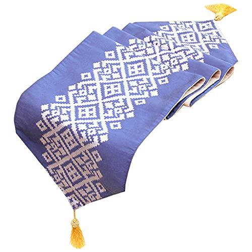 Bord löpare randig geometrisk te bord flagga modern minimalistisk tyg säng flagga (Size : 30 * 210cm)