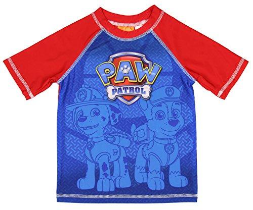 Nickelodeon Paw Patrol Boy Rash Guard Swim Shirt (5T)