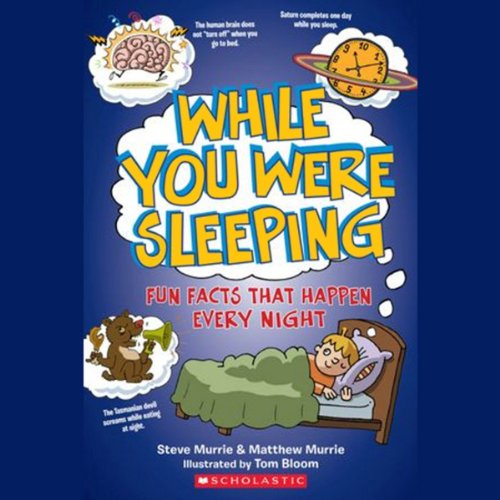 While You Were Sleeping audiobook cover art