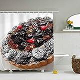 Duschvorhang Kuchen Backbeeren Streuen Wasserdichten Polyester Badvorhang