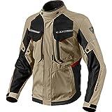 Chaqueta de motociclismo Rev It Safari 2, hombre mujer, FJT204-5220, Sand Black,...