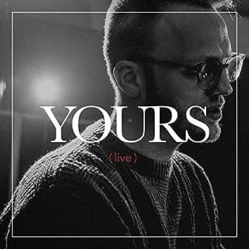 Yours (Live Studio Version)