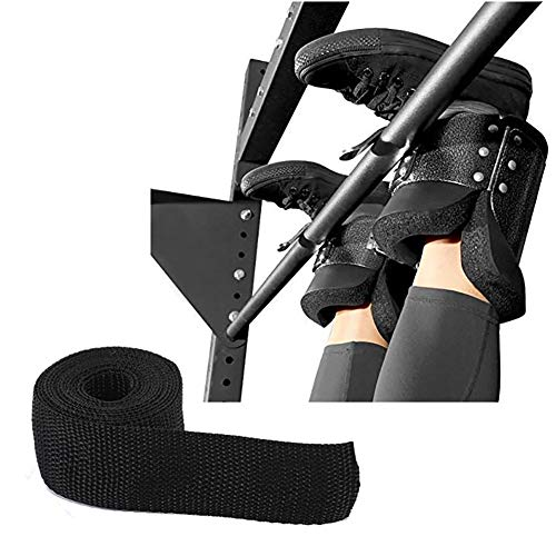 Best Deals! Inversion Gravity Boots 1 Pair with 2M Booster Rope,Therapy Gym Fitness Hang Spine Pos...
