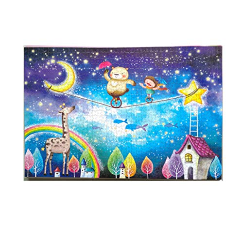 GUOXIN12 Rompecabezas 1000 Piezas mundialmente Famosos Rompecabezas de Pintura Juguetes para Adultos niños niños Juguete decoración del hogar Coleccionable DU36
