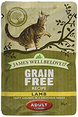 James Wellbeloved Adult Cat Pouch 12 x 85 g