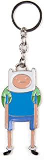 Adventure Time Finn Keychain incl. Keyring Silver Metal
