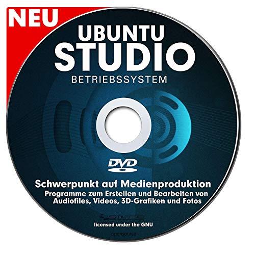 Betriebssystem UBUNTU STUDIO NEU für PC & Notebook NEU auf DVD 32 oder 64 Bit ! Distribution mit Schwerpunkt auf Medienproduktion