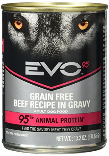 Nutro 43812586 EVO 95-Percent Beef Dog Food Can (12 Pack), 13.2 oz