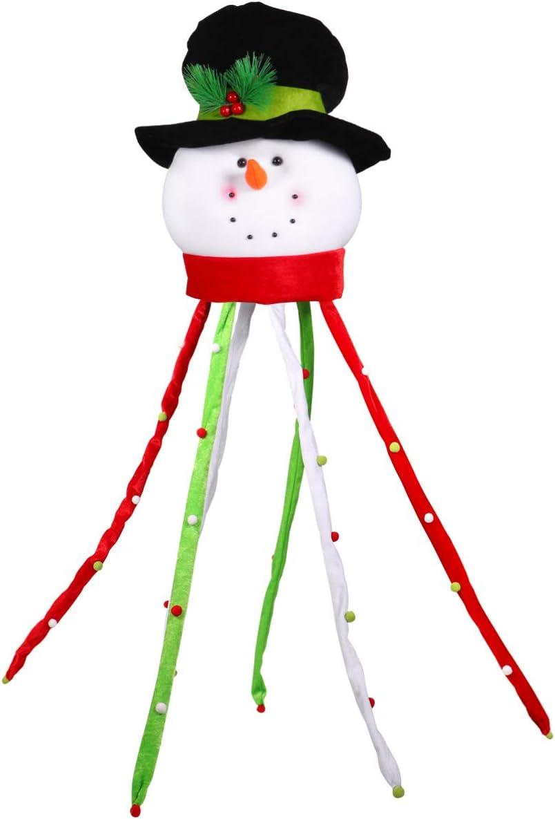 GARNECK Low price Bargain Christmas Tree Topper Treetop Decor Chri Snowman