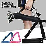 KOET Bolsa de transporte para palos de golf, portátil, mini bolsa de transporte para campos de golf y viajes profesional, color Rosa, tamaño Tamaño...
