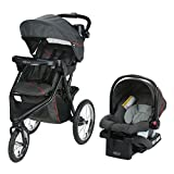 Graco Trax Jogger Travel System | Includes Trax Jogging Stroller and SnugRide 30 Infant Car Seat,...
