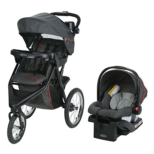 Graco Trax Jogger Travel System | Includes Trax Jogging...