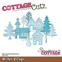 """CottageCutz Dies-Winter Village, 5.2""""X3.3"""""""