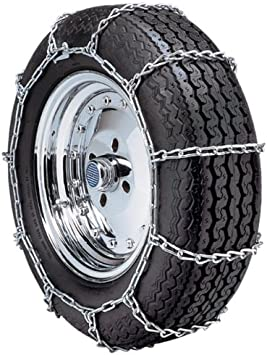 Security Chain Company QG1134 Quik Grip Type PL Passenger Vehicle Tire Traction Chain - Set of 2: image