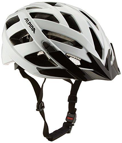 ALPINA PANOMA CLASSIC Fahrradhelm, Unisex– Erwachsene, white, 52-57