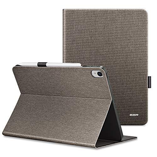 ESR Urban Premium Folio Case for iPad Pro 11' [Support 2nd Gen Apple Pencil Wireless Charging] Book Cover Design, Multi-Angle Viewing Stand, Auto Sleep/Wake for iPad 11' (2018 Release), Twilight