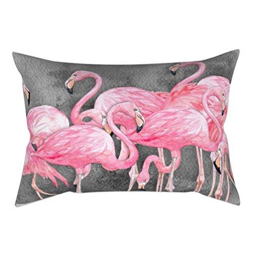 30x 50cm suave funda de almohada decorativo de flamenco funda para cojín funda de almohada, poliéster, 11#, talla única