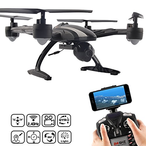 JXD 509W 6 Axis Quadcopter con WiFi...