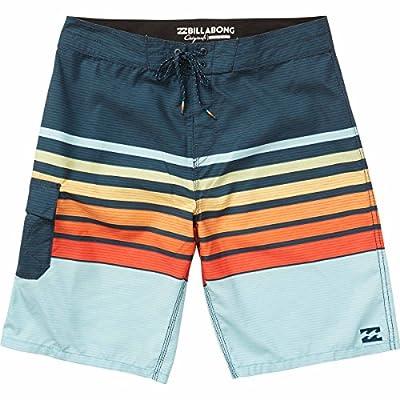 Billabong Men's All Day OG Stripe Boardshort, Orange, 28 from Billabong