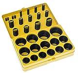 DollaTek 382PCS Surtido NBR O-Ring Set 30 tamaños Nitrilo O-rings de goma - Amarillo, para fontanería profesional, aire, gas, automoción, fontanero, reparaciones