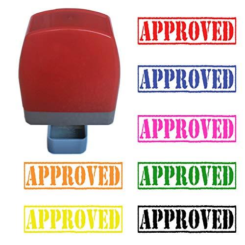 Goedgekeurde zelfklevende rubberen stempel Hot Pink Ink