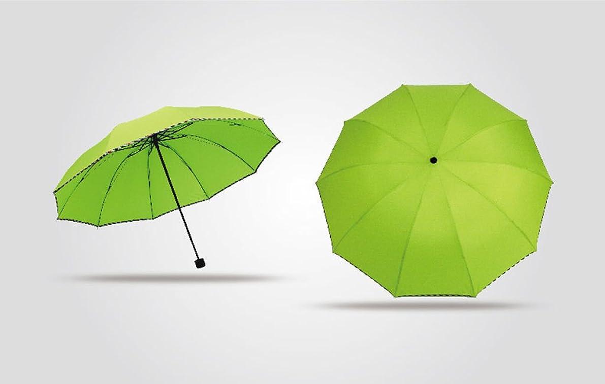 役立つ生活亡命折りたたみ大型強化日傘傘メンズ三人折りたたみ日傘傘 ズトイビー (Color : #2)