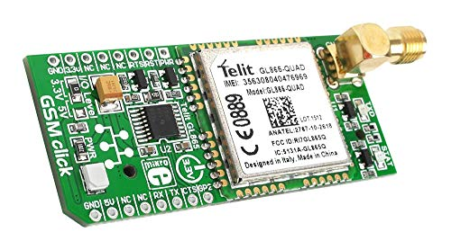 MikroElektronika Ltd Board GPRS GSM Click MIKROE-1298 MKE