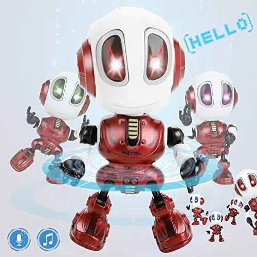 Dookey Robot Repite, Mini Robot de Juguete para Niños de 3 a 8 Años,...