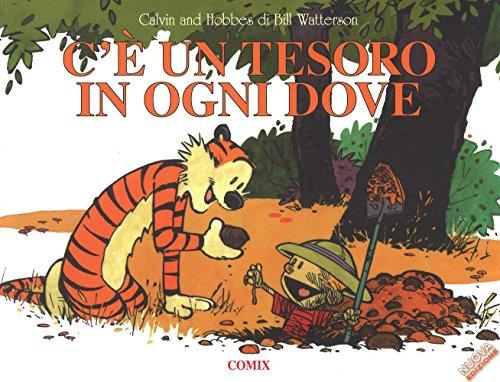 C'è un tesoro in ogni dove. Calvin & Hobbes