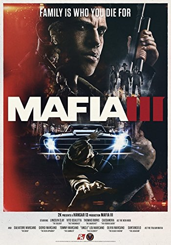 Mafia 3 - Imported Video Game Wall Poster Print - 43cm x 61cm / 17 Inches x 24 Inches A2