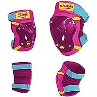 Disney Niños Elbow Knee Skate Protectors Soy Luna Sports, Multicolor, S