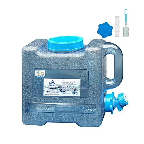 WANGQ Serbatoio d'Acqua in Plastica, Tanica per Acqua, per Acqua Tanica per Acqua con Rubinetto, Impermeabile E Robusta, per Campeggio All'aperto O Contenitore per Acqua Portatile per Uso Familiare