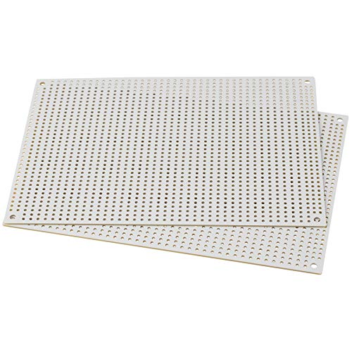 """Black Perforated Large Hole Crossover Board Pair 5/"""" x 7/"""""""