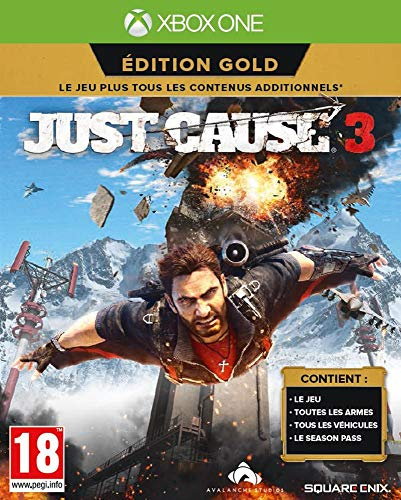 Just Cause 3 - édition gold [Importación francesa]