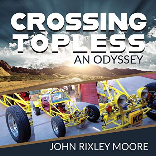 『Crossing Topless: An Odyssey』のカバーアート