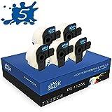 RINKLEE DK-11208 Etiquetas Compatible para Brother P-Touch QL-500 QL-550 QL-560 QL-570 QL-580 QL-700 QL-710W QL-720NW QL-800 QL-810W QL-820NWB QL-1060N QL-1100 QL-1110NWB | 38 x 90 mm | 5 Rollos