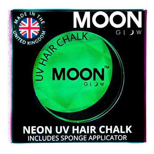 Moon Glow -Neon-UV-Haarkreide3.5gGrün–ein spektakulär glühender Effekt bei UV- und Schwarzlicht!