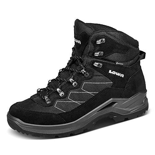 Lowa Taurus PRO GTX® MID Herren Wanderstiefel Tracking Outdoor Goretex Schwarz, Schuhgröße:44 EU